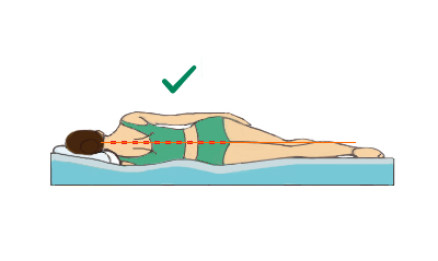 right mattress for a side sleeping position